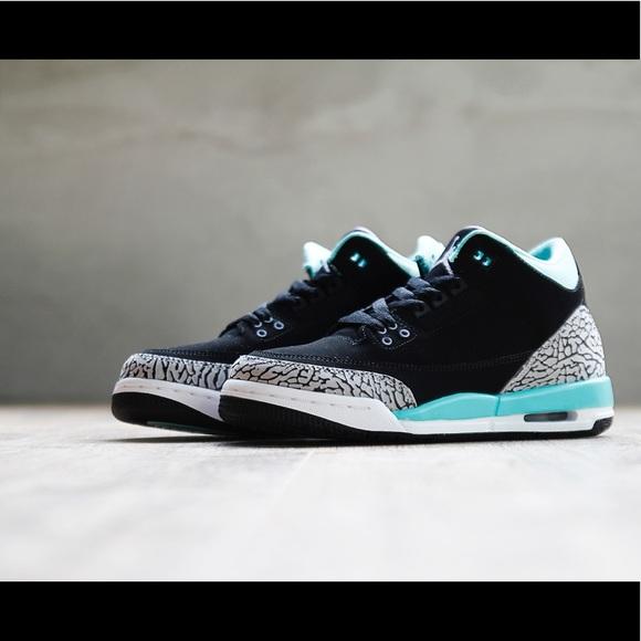 777cd7c877e ... Bred - Size 10 Nike Air Jordan 3 Retro mint green ...